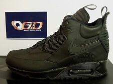 Nike Air Max 90 Winter Sneakerboot Triple Black 684714 002 UK5.5 EU38.5 BNIB!!