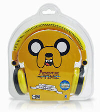 JAKE ADVENTURE TIME FOLD UP MULTI DEVICE HEADPHONES BRAND NEW FINN & JAKE