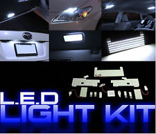 For 2010-2012 Prius Interior Exterior Complete LED Panel Light Bulb Kit 12 PCS