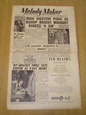 MELODY MAKER 1953 SEPTEMBER 5 LONDON JAZZ CLUB HUMPHREY LYTTELTON TED HEATH