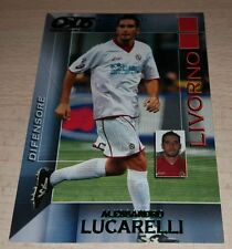 CARD CALCIATORI PANINI 2004/05 LIVORNO A. LUCARELLI CALCIO FOOTBALL SOCCER ALBUM