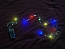 DOLLS HOUSE BATTERY CHRISTMAS TREE LIGHTS ( NO MAINS POWER REQUIRED) CHILD SAFE
