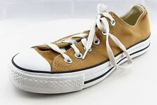 Converse All Star Fashion Sneakers Brown Textile Women Size 7 Medium