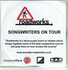 (DA694) Roadworks, Songwriters On Tour, 14 tracks various artists - DJ CD