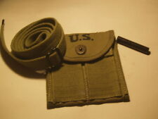 CARBINE SLING, OILER AND BUTTSTOCK POUCH IN DARK OD