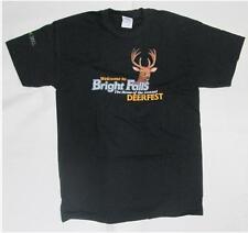 Alan Wake T-Shirt Bright Falls Deerfest Black Mens Size Large