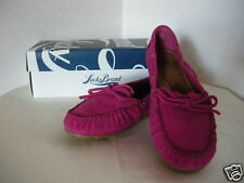 Authentic Lucky Brand Darice Moccasin Women's Shoes Fuchsia Size 9