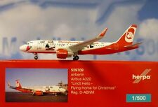 Herpa Wings 1:500 Airbus A320 airberlin D-ABNM Flying Home Christmas 16  529709
