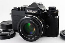 EXCELLENT+++ Nikon FE 35mm film camera w/ai-s nikkor 50mm 1.8 from japan #260