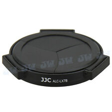 JJC PROFESSIONAL AUTO OPEN CLOSE LENS CAP FOR PANASONIC DMC-LX7 CAMERA
