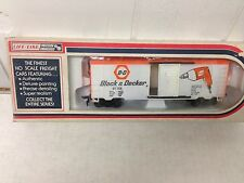 Life-Like  HO Scale Train Black & Decker Power Tools Box Car RARE #08484 RARE