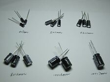 470uF 25V 8*12  Radial Electrolytic Capacitors 30pcs