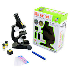 Girl Boy Education Toy Microscope Kit Student Kids Science Lab Learn
