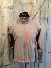 Swix Men's Start Training XC Jacket, Grey, Medium, NWT, Nordic Ski Coat