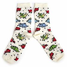 LADIES MULTIPLE DINOSAUR PTERODACTYL ONE SIZE SOCKS