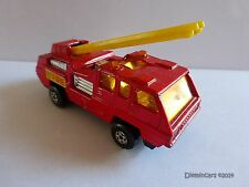 Blaze Buster Fire Engine No. 22 Superfast Matchbox Lesney 1975