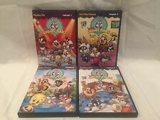 Baby Looney Tunes - COMPLETE Volumes 1-4 RARE HTF - Bugs Bunny Kids Show 2 3