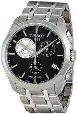 T0354391105100 Tissot Men's Black Dial Couturier Watch Quartz Stainless Steel