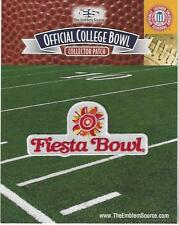 2016 Fiesta Bowl Patch Ohio State vs Notre Dame Official Jersey Logo No Sponsor