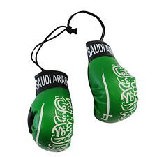 SAUDI ARABIA COUNTRY FLAG MINI BOXING GLOVES .. NEW