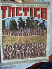 Tactica Ancient War Game Book By Arty Conliffe, Paperback, 1989