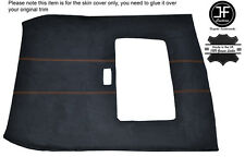 ORANGE STITCH SUNROOF ROOF HEADLINING PU SUEDE COVER FITS ROVER 25 MG ZR 99-05
