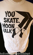Moonwalk Michael shirt billie jean skateboard ice skate hockey jackson med vtg