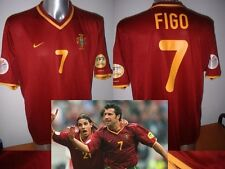 Portugal Luis Figo Madrid Nike Shirt Jersey Football Soccer Adult S Euro 2000