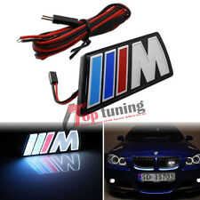 LED Illumine Front Grill Grille Emblem Badge for BMW ///M Power M-Series M4 M5