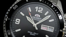 New Orient Mako I Black automatic Gent's watch FEM65001B,EM65001B Diving WR 200m