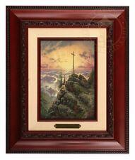 Thomas Kinkade Sunrise - Brushwork (Brandy Frame)