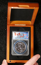 2010 Maple Leaf Winter Olympics First Day Issues MS70 ANACS