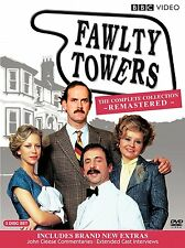 Fawlty Towers Complete Collection Remastered DVD Set Season Series TV Show Box R