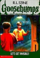Let's Get Invisible! (Goosebumps, No. 6) by R. L. Stine, Good Book