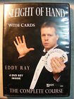 Sleight of Hand With Cards (4 DVD 2006) Eddy Ray Learn Over 125 Different Tricks