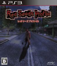 Used PS3 Red Seeds Profile Japan Import