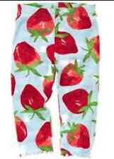 Gymboree BURST OF SPRING strawberry print leggings size 3-6 months NWT