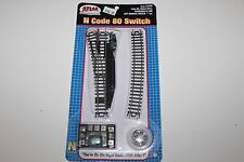 N Scale Atlas 2700 Left Remote Switch Code 80 Nickle Silver New