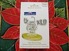 HALLMARK 2012 THE MOOSE MUG  CHRISTMAS  VACATION ORNAMENT  NEW MAGIC
