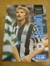 06/03/1993 Newcastle United v Brentford  . Condition: Listed previously in brack