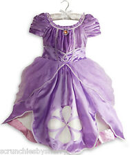 Disney Store Princess Sofia the First Costume Dress Fancy Size 5/6 Halloween New