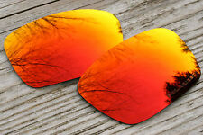 Hot Orange Red Polarized Custom Replacement Sunglass Lenses for Oakley Fuel Cell