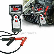 Automotive Vehicular Battery Load Tester Charging Voltage Test Tool Digital LCD