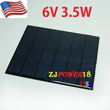 1PC 3.5W 6V 583mA Mini Solar Panel Module System Epoxy Cell Charger DIY B033 @US