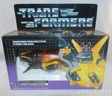 Transformers Original G1 Insecticon Ransack MIB MOSC