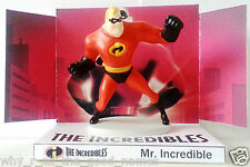 Disney Pixar THE INCREDIBLES Action Figure MR INCREDIBLE on Custom Display Stand