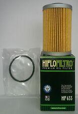 KTM EXC 450 / Seis Días HifloFiltro (2012 a 2016) Filtro De Aceite (HF655)