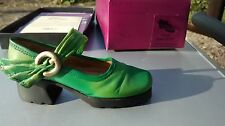 """Collectible Miniature Shoe """"Just the Right Shoe"""" by Raine - Treads (Boxed)"""