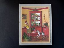 Vintage Sample Xmas Greeting Card by Charlotte Joan Sternberg Cupboard of Cheer