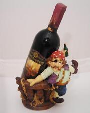 Set vino Brunello di Montalcino 1980+Statuina Pirata OMA19